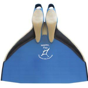 monopalme-ailettes-competition-bleue